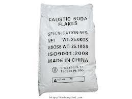 NaOH – Cautic soda Flakes 99%