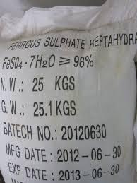 FeSO4.7H2O – Ferous Sulphate Hepta 99%