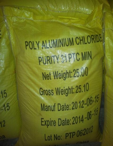 PAC – Poly Aluminium Cloride – Vàng Chanh