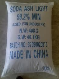 Na2CO3 – Soda ash light 99.2%